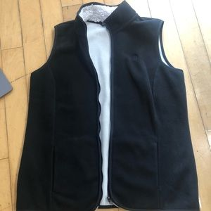 Brooks Brothers L Black Mens polyester vest
